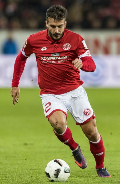 Giulio Donati of Mainz 05 during the Bundesliga match between 1. FSV Mainz 05 and SC Freiburg at Opel Arena on November 19, 2016 in Mainz, Germany.