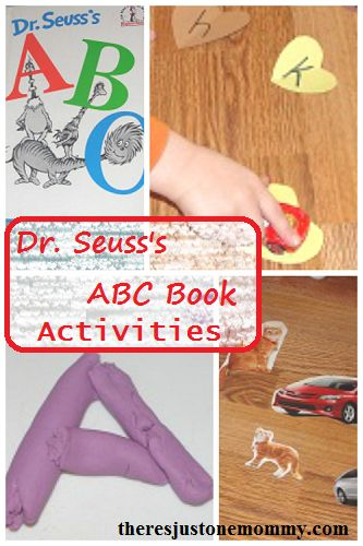 Fun activities to go with Dr. Seuss's ABC book