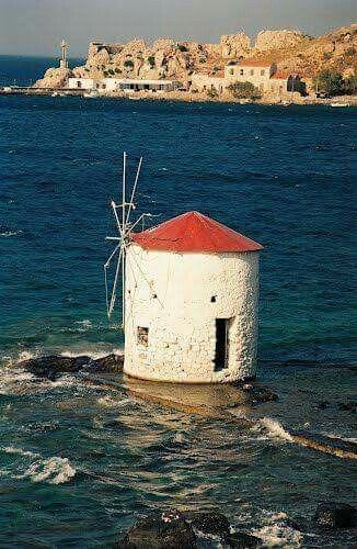 Agia Marina, Leros island, Dodecanese, Greece