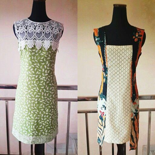 Simple Batik day dresses