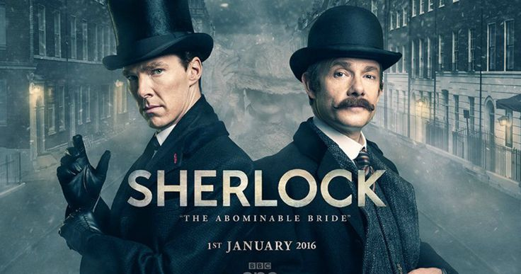 'Sherlock' Special Poster Reveals Title & Premiere Date -- 'Sherlock' Season 4 will begin shooting Spring 2016, with the Victorian Era special set to debut on PBS this Winter. -- http://movieweb.com/sherlock-special-abominable-bride-title-date-poster/