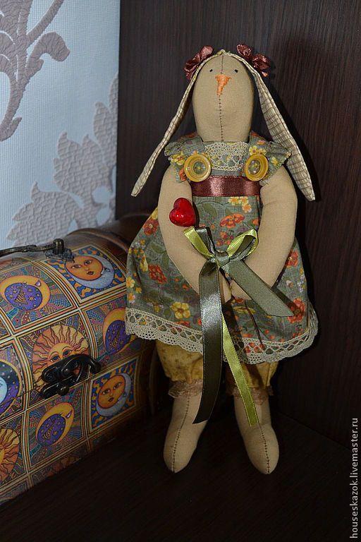 Купить Зайка тильда (С любовью, Сьюзи) - тильда, тильда кукла, тильда заяц