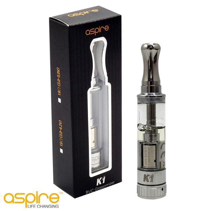 Aspire K1 #glassomizer. Maart is Aspire maand bij E-Rokershop. #elektrischroken