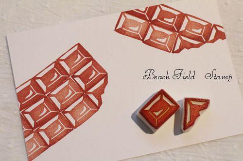 Chocolate mosaic