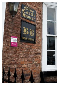 Castle House, Redmire room Richmond £80 - Night 9 (7/6) - BOOKED