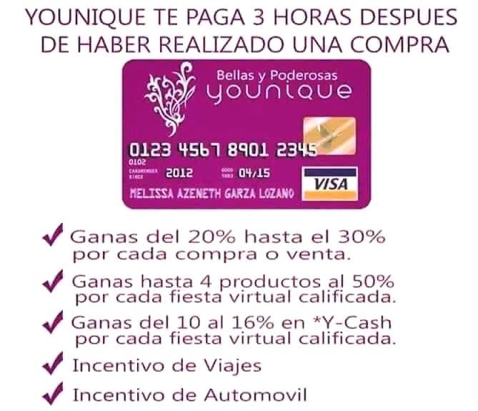 Como es que esta compañía nos paga? Después de cada compra, tus comisiones a las 3 horas después, se depositan en una tarjeta como esta. Tú puedes usar el dinero de la tarjeta o transferir el dinero a tu banco!!!! Si tienes equipo, es decir otras chicas inscritas en tu equipo..... también recibes un BUEN pago mensual cada día 8 de el mes!!!!!!! Esta increíble!!!!!