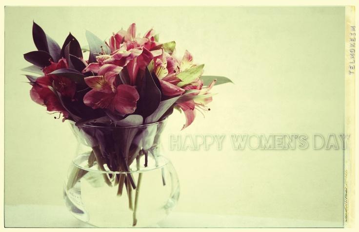 Dia Internacional da Mulher!   Dia Internacional de La Mujer!  Journée Internacionale des Femmes1