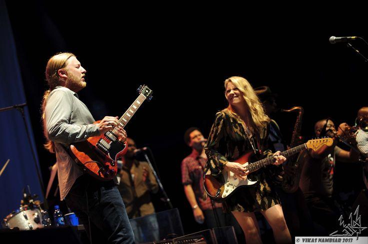 Derek Trucks and Susan Tedeschi of the Tedeschi Trucks Band