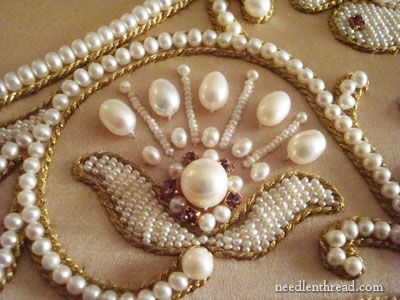 ~ Pearl Embroidery ~ Want to learn how to do this....