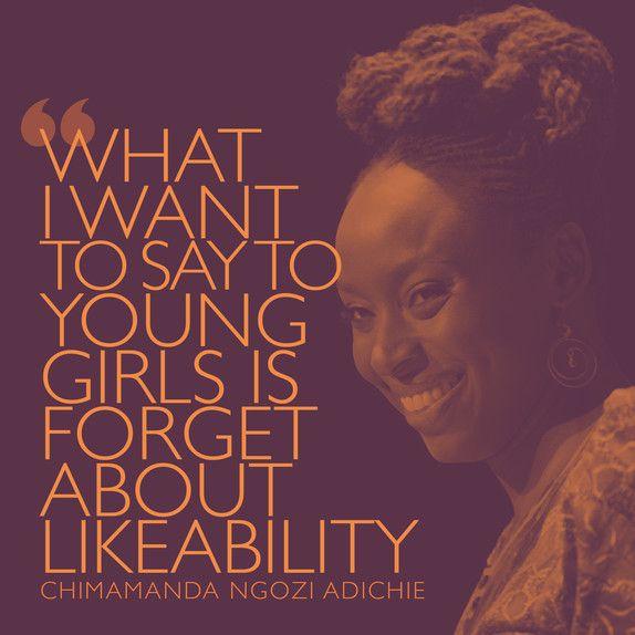 The Pool | Life - Today I'm Channelling Chimamanda Ngozi Adichie