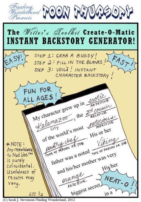 Backstory - A Comic