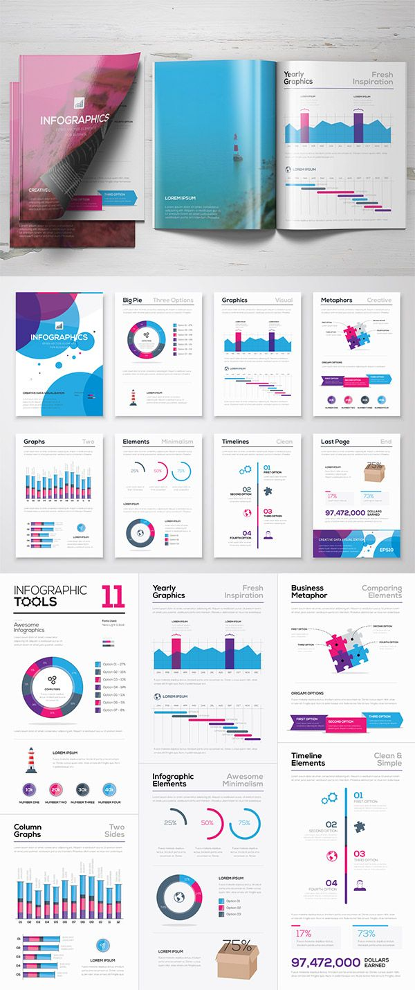Mats Forss from the Infographic Template Shop has been a long time supplier of useful vector infographic tools for Access All Areas members, with four previous packs containing 100s of individual elements. This latest set contains lots of different graph styles, pie charts, timelines and creative elements that can be used to quickly style up …