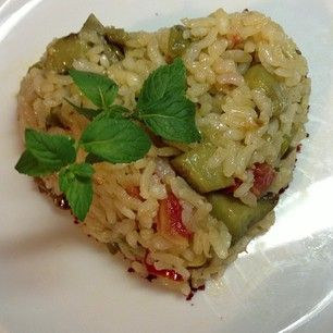 nurhansenturan): Patlıcanlı pilav .ınstagramdan alıntıdır.