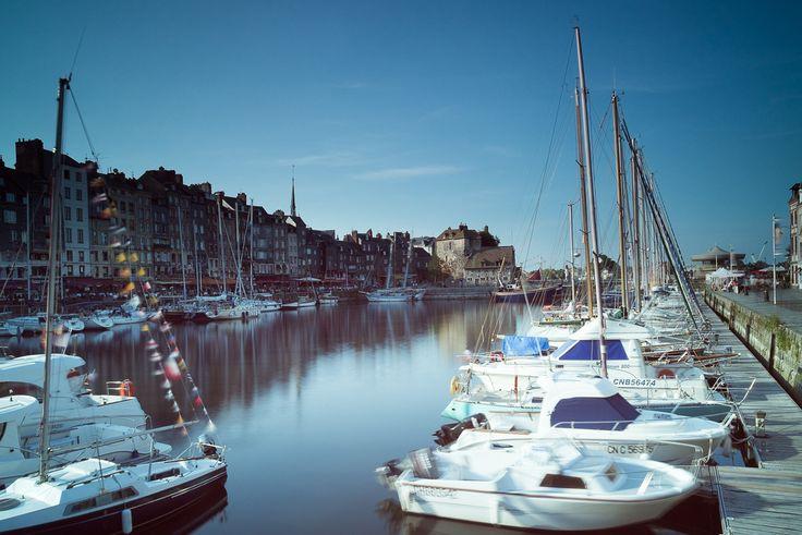 Harbour of Honfleur, France