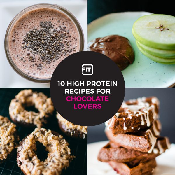 Satisfy your sweet tooth and stay on track of your goals with healthy high protein treats. Try these 10 healthy treats made with chocolate protein