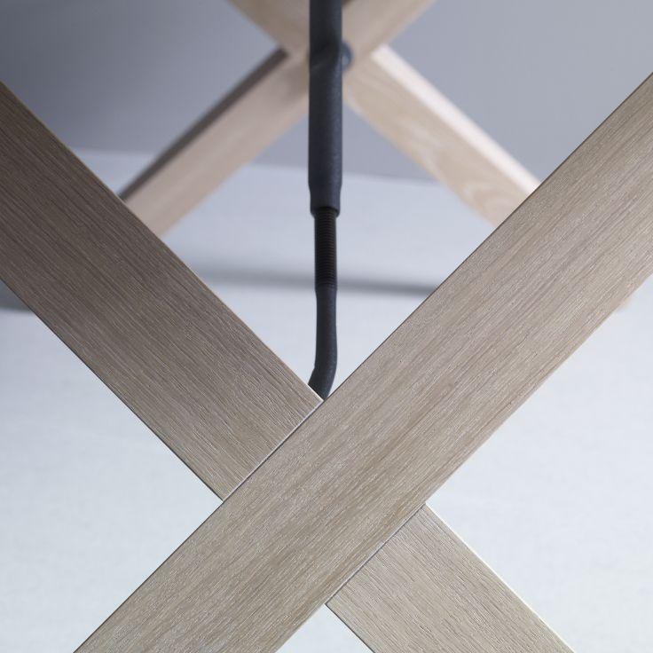 2 x X = solid oak