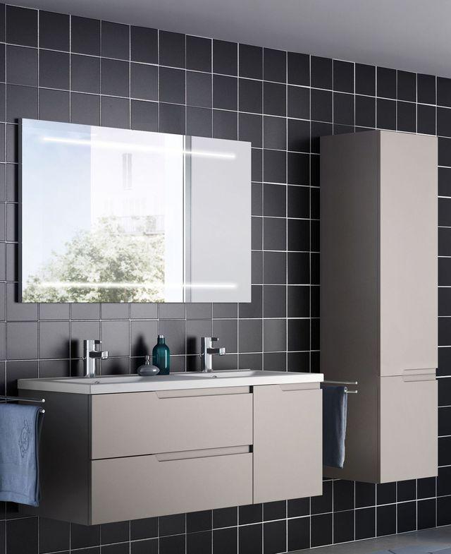 Les 399 meilleures images propos de salle de bain sur - Miroir de salle de bain avec tablette ...