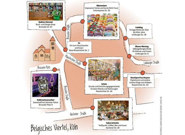 Belgisches Viertel Köln: Diese Geschäfte sollten Sie sehen