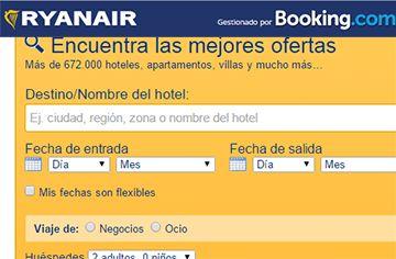 Hoteles Baratos con RyanAir