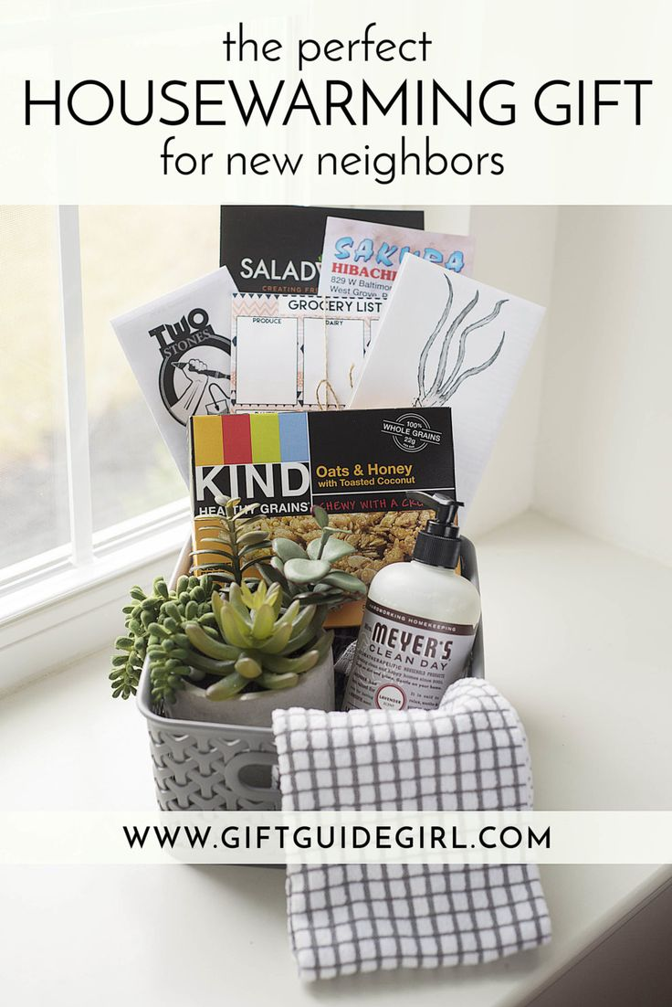 Unique, Easy and Inexpensive Housewarming Gift Ideas