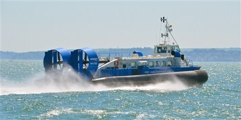Hovercraft service to Ryde on the Isle of Wight from Southsea. #isleofwight #iw #iow