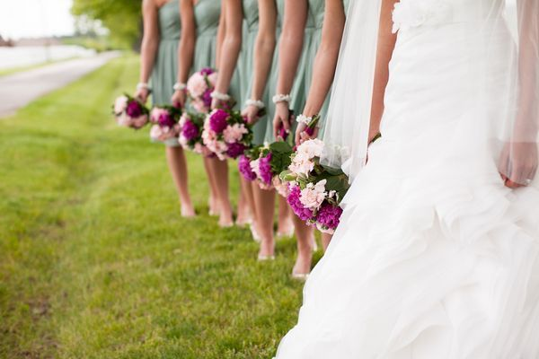 teal and fuchsia mexican wedding   Pale teal and fuchsia wedding   Future Mrs. Parker
