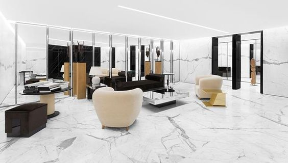 Yves Saint Laurent | Retail Interior Design, Retail Design #luxuryretailstores #retailfurniture #retailinteriordesign See more retail projects http://brabbucontract.com/projects