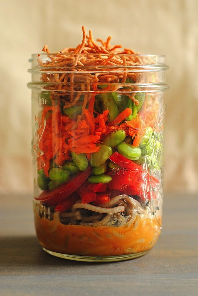 12 Mason Jar Salads That Will Kickstart Your Lunch Break