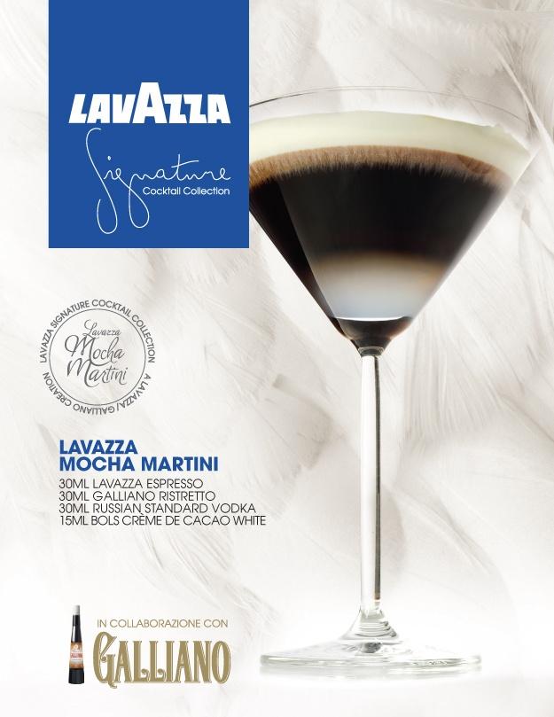 The Lavazza Mocha Martini
