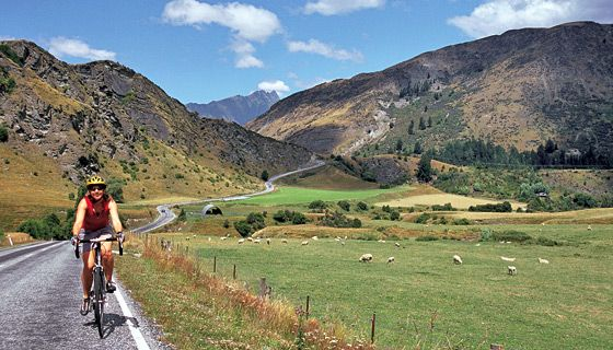 New Zealand: Epic biking in one of the world`s greatest outdoor playgrounds...