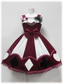 Marionette Girl JSK in Wine from Angelic Pretty - Lolita Desu