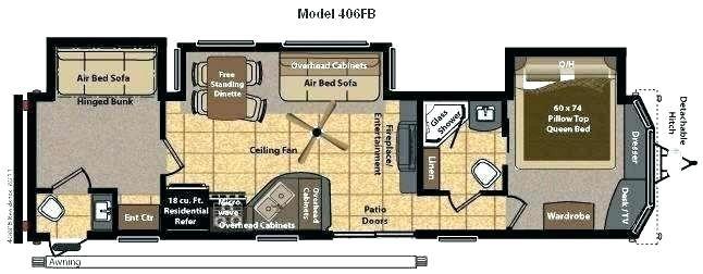 Class A 2 Bedroom Rv Google Search Keystone Rv Rv Residences