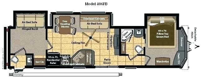 Class A 2 Bedroom Rv Google Search Keystone Rv Trailer Living Rv
