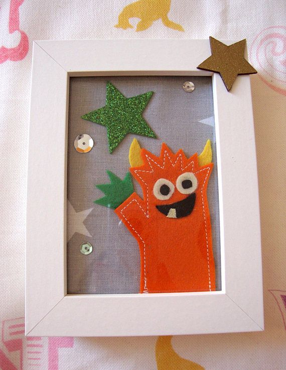 Check out this item in my Etsy shop https://www.etsy.com/uk/listing/510289426/kids-framed-picture-friendly-orange