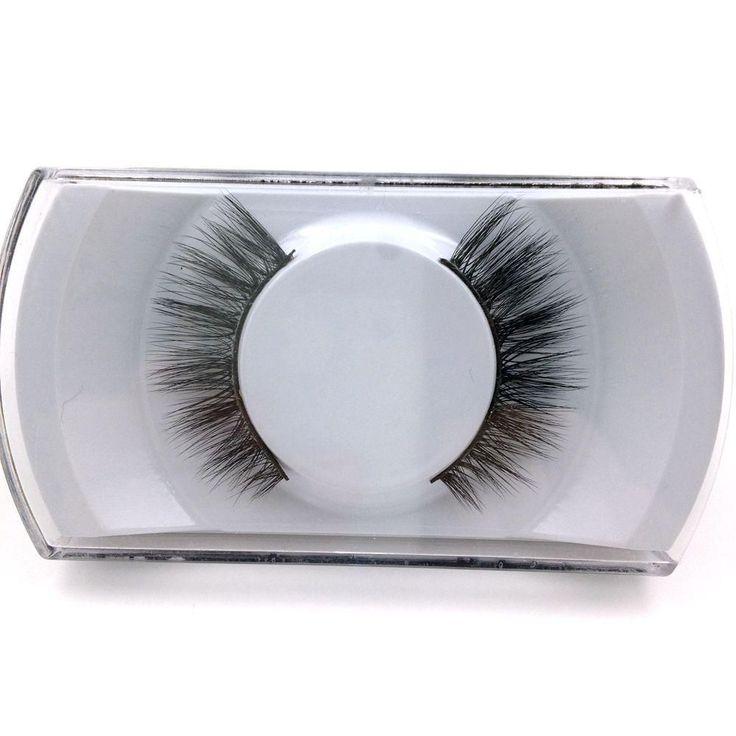 1Pair Lashes Natural False Eyelashes