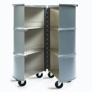 Bar Barrel - recycled oil drum, comes in various colours