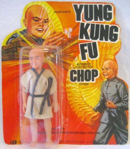DURHAM: 1974 YUNG KUNG FU Push Button Chop Action Figure