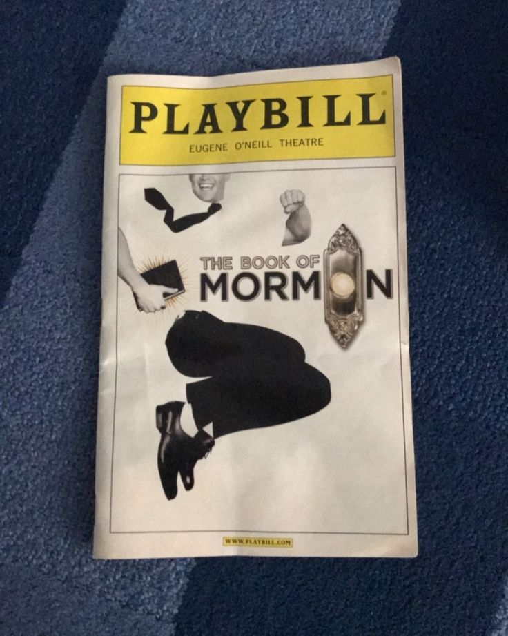Book of Mormon obc damaged a bit in the front as you can see in the pictures. Taking offers.  #hamilton #broadway #musicals #musical #music #playbills #linmanuelmiranda #intheheights #bringiton #andykarl #dearevanhansen #lesmis #wicked #groundhogday #greatcomet #waitress #signed #misssaigon #bandstand #falsettos #bigfish #brandonuranowitz #charlieandthechocolatefactory #newsies #onyourfeet #americaninparis #bookofmormon #shrek #hellodolly #bandstand #misssaigon #greatcomet
