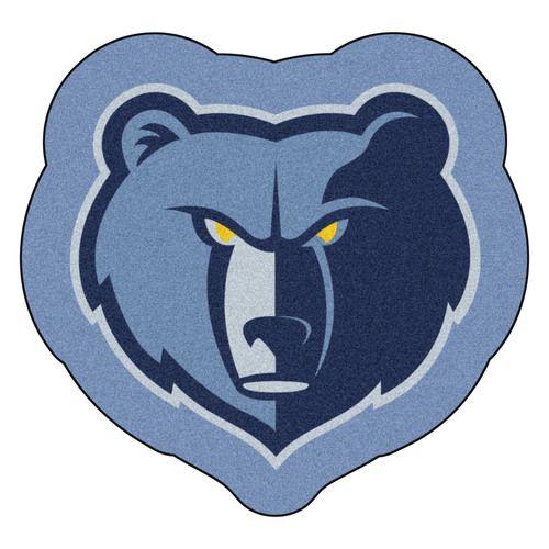 Memphis Grizzlies Mascot Area Rug Floor Mat
