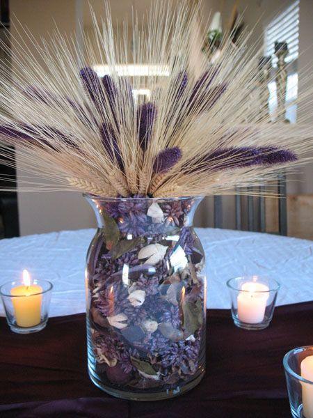 Best lavender and wheat bouquets arrangements
