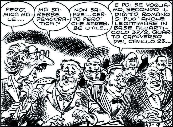 ITALIAN COMICS - La legge elettorale e la casalinga di Voghera 2