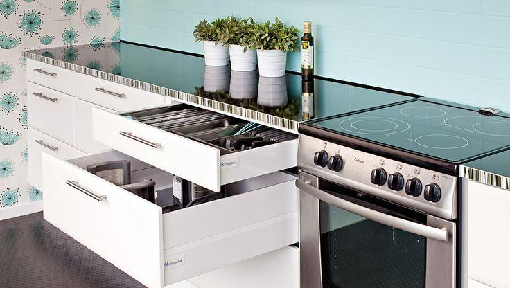 Smart förvaring. Lådor gör köket!