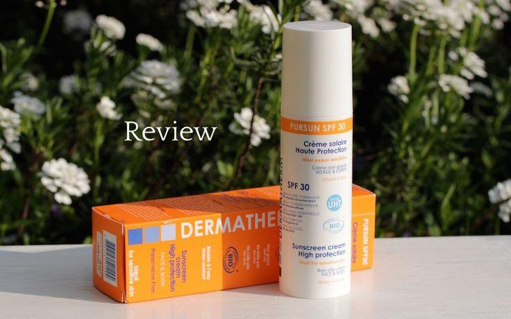 Review: Dermatherm Pursun SPF 30 creme solaire