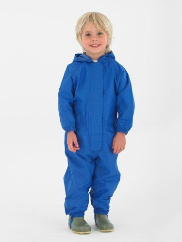 Waterproof overall, regenoverall - blauw - www.chick-a-dees.nl