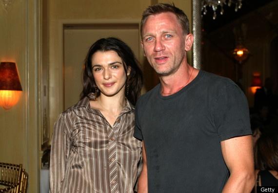 Rachel Weisz and Daniel Craig: step-parents to each others' children.