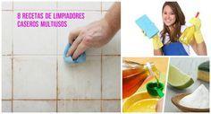 8 recetas caseras para hacer limpiadores caseros fácilmente