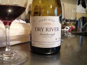 All of Dry River wines are made to age. They also all still are sealed under cork. Even tasting a 1985 Sauvignon Blanc, albeit very close to being dead it still showed some varietal character, highlighted that these wines were built for longevity and not instant gratification. New Zealand Pinot Noir and Syrah is often talked about falling over after 5 years, these wines will last you 20+.
