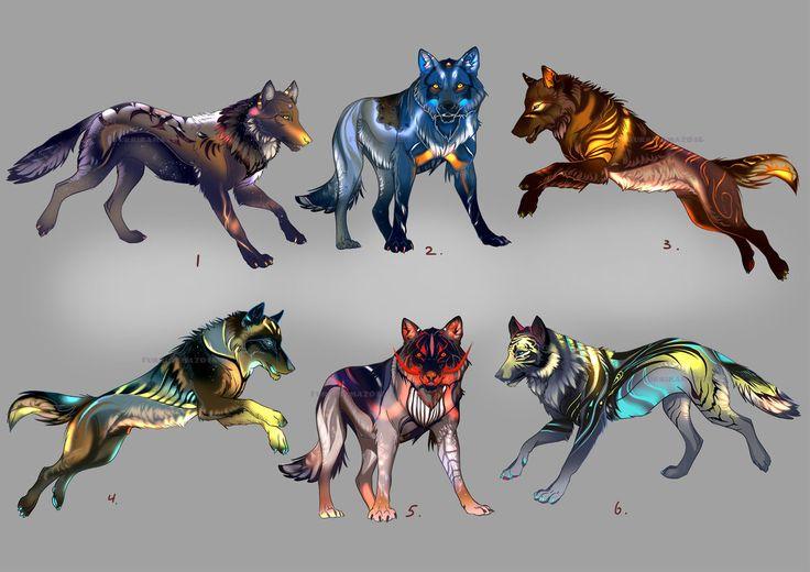 Wolfpack Adopts2 (open 1/6) by Furrirama.deviantart.com on @DeviantArt