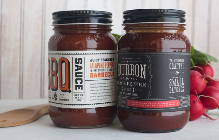 Nice packaging for BBQ hot sauce #packaging #packagedesign