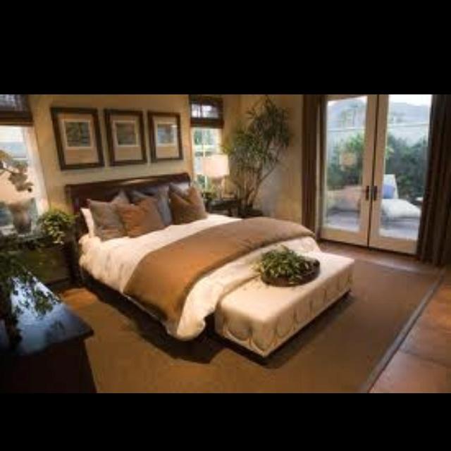 Neutral bedding: Dream, Decor Bedrooms, Decorating Bedroom, Master Bedrooms, House, Master Bedroom Design, Bedroom Interiors, Bedroom Designs, Bedroom Ideas